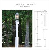 PVC Lamp Post #4