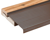 Randall Adjustable Exterior Aluminum and Oak Door Sill