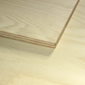 "White Ash Plywood Full Sheets 48""x96"" (4' x 8')"