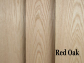 Oak, Red Hardwood S2S1E (1/2, 4/4, & 5/4 Thick Only)