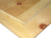 "Pine (Knotty) Plywood Full Sheets 48""x96"" (4' x 8')"