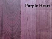 Purple Heart Hardwood S4S