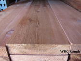 "WR Cedar, #2 grade, Rough,  2"" thick"
