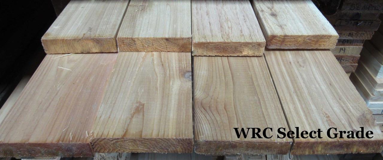 WR Cedar, Select Grade, S1S2E, 1