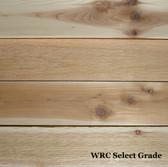 """WR Cedar, Select Grade, S1S2E,  1"""" thick"""