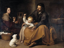 The Holy Family by Bartolomé Murillo