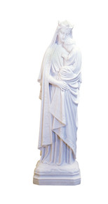 Our Lady Seat of Wisdom - Marble resin