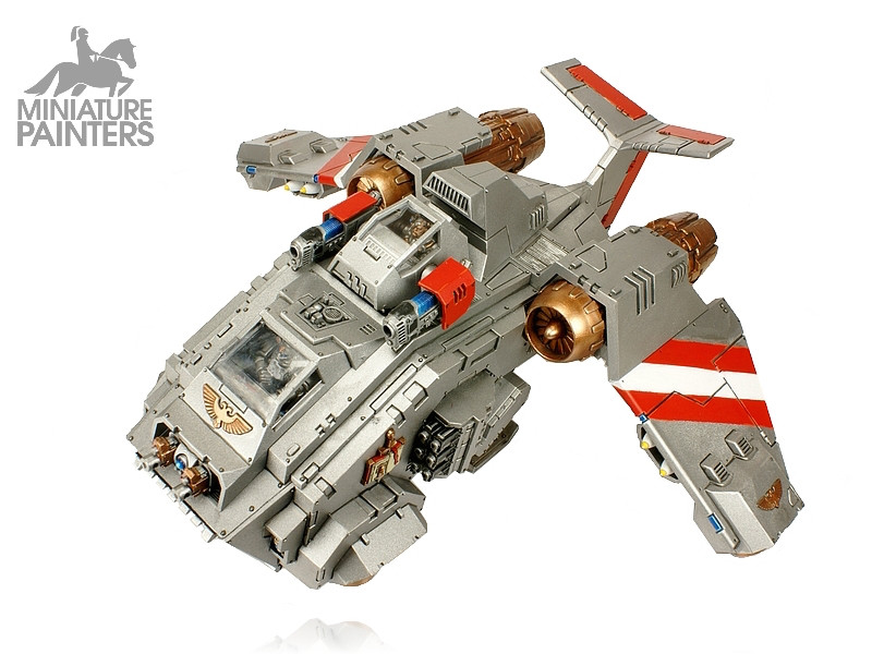 SILVER Stormraven Gunship