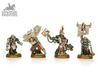 SILVER Chaplain Grimaldus & Retinue