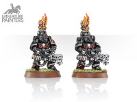 SPACE MARINE DAMNED LEGIONNAIRE WITH HEAVY FLAMER