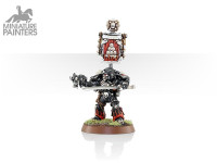 SPACE MARINE DAMNED LEGIONNAIRE SERGEANT WITH BOLT PISTOL & POWER WEAPON