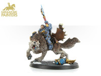 GOLD Wolf Lord on Thunderwolf