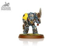 SILVER Rune Priest in Terminator Armour