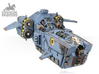 SILVER Stormfang Gunship