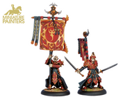 GOLD Praetorian Swordsmen Officer & Standard Bearer