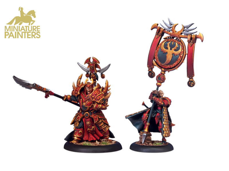 GOLD Tyrant Commander & Standard