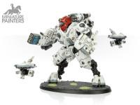 SILVER XV95 Ghostkeel Battlesuit