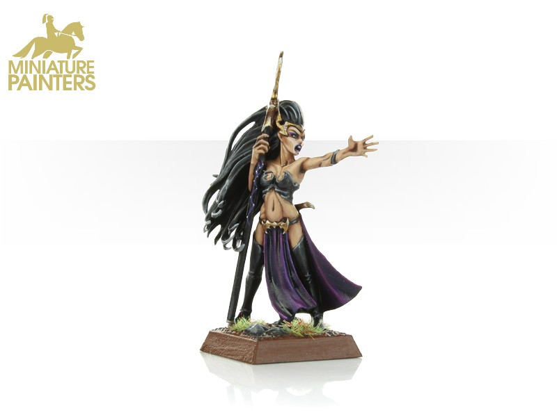 GOLD Dark Elf Sorceress