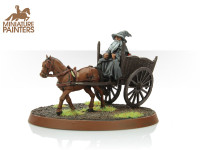 BRONZE Gandalf the Grey & Cart