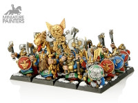 SILVER Dwarf Warriors