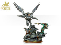 GOLD Corvus Corax Primarch of the Raven Guard