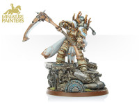 GOLD Mortarion the Reaper Primarch of the Death Guard