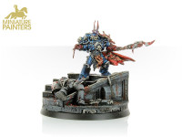 GOLD Sevatar First Captain of the Night Lords