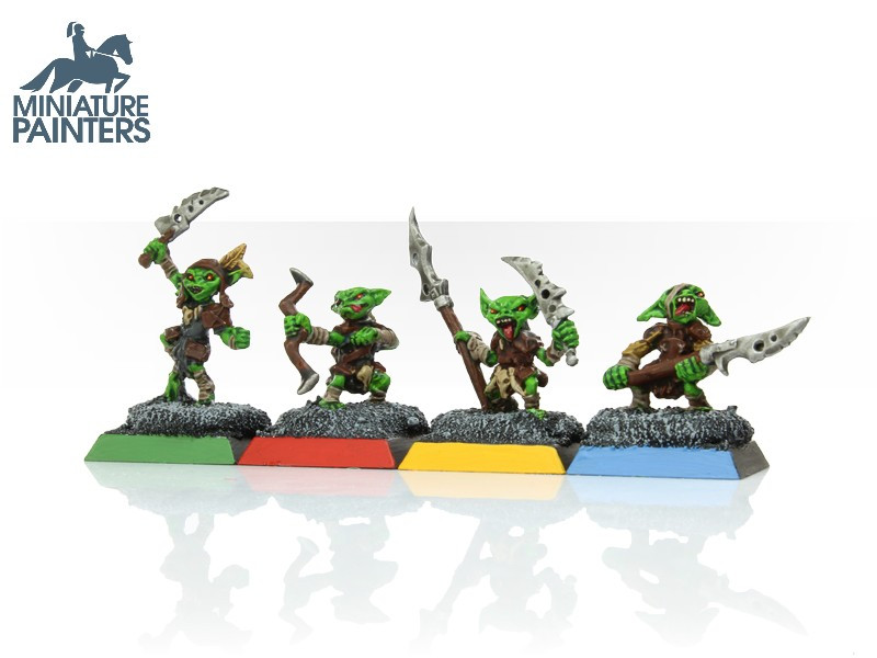 LEAD Pathfinder Goblin Warriors