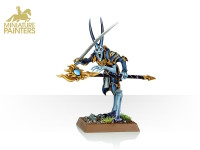 GOLD Tzeentch Sorcerer Lord