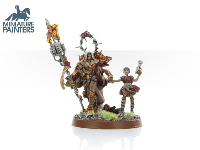 LEAD Battle Sister Sororita with Young Apogeum