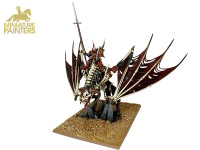 GOLD Vampire Lord on Zombie Dragon