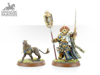 STORMCAST ETERNALS LORD-VERITANT WITH GRYPH HOUND
