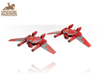 BRONZE Tau Remora Drone Stealth Fighters