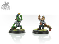 BLOOD BOWL GOBLIN & HALFLING REFEREES