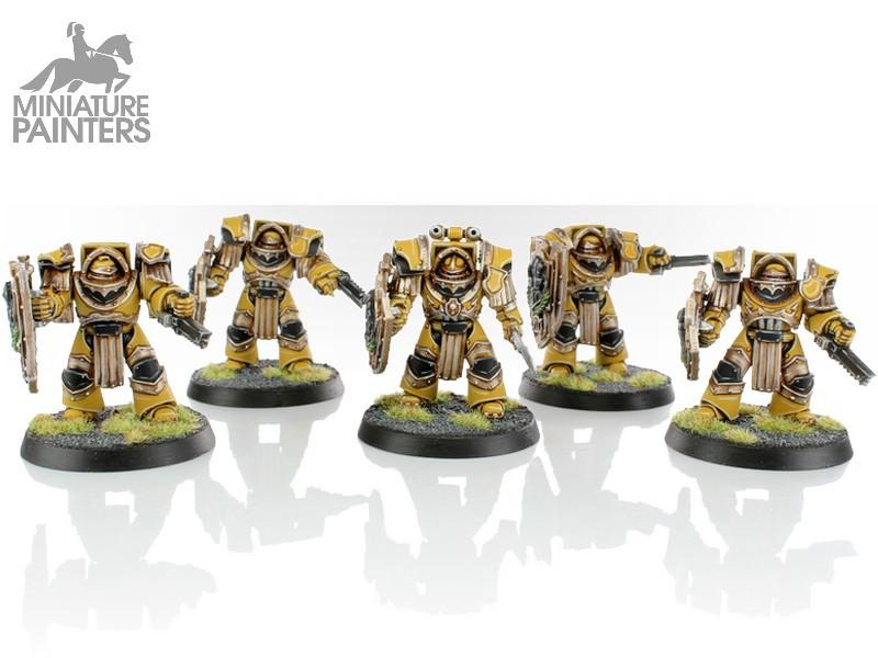 6 Scibor Miniatures Angels Shields