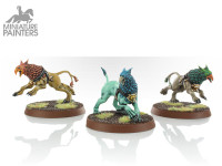 SILVER gryph hounds