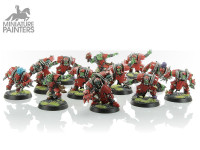 BLOOD BOWL GOUGED EYE TEAM AND TROLL