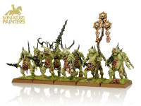 GOLD Plaguebearers of Nurgle