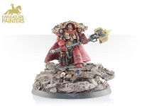 GABRIEL ANGELOS, CHAPTER MASTER OF THE BLOOD RAVENS