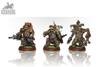 DEATH GUARD PLAGUE MARINES (x7)