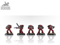 HORUS HERESY MARK IV SPACE MARINES