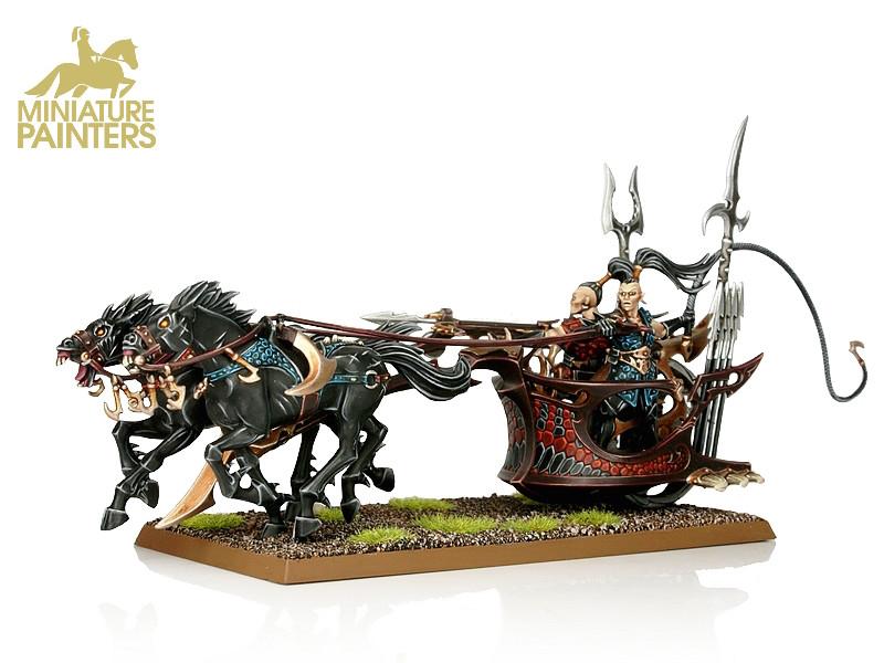 GOLD Scourgerunner Chariot