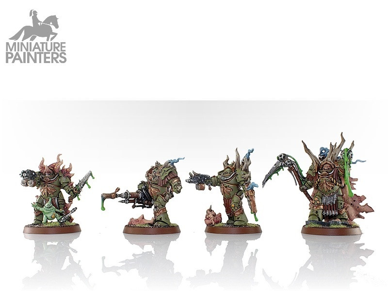 DEATH GUARD LORD FELTHIUS & THE TAINTED COHORT
