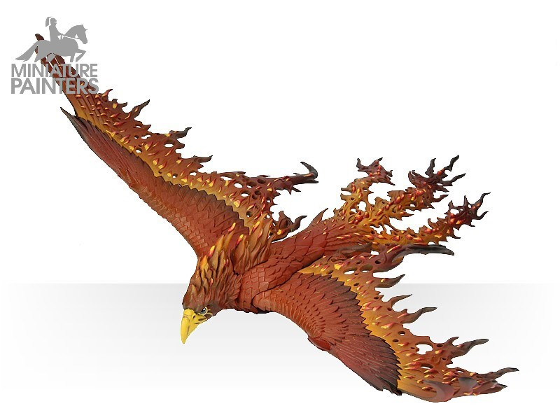 SILVER Flamespyre Phoenix