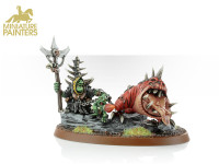 LOONBOSS WITH GIANT CAVE SQUIG