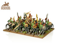 BRONZE Forest Goblin Spider Riders