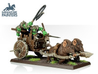 LEAD Orc Boar Chariot