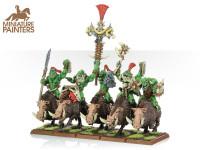 BRONZE Savage Orc Boar Boyz