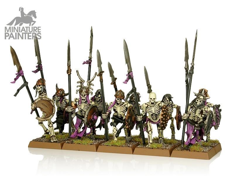 SILVER Skeleton Warriors