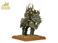 GOLD Chaos Lord on Daemonic Mount